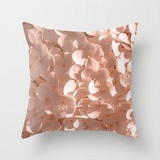 Holy Hydrangea II Throw Pillow