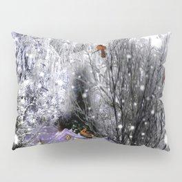 The Birds Of Winter Pillow Sham