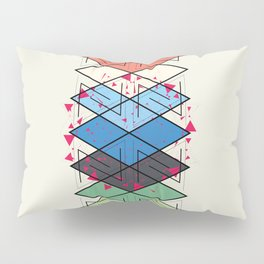 Fractal pattern Pillow Sham