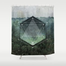 The Sacred Wood Shower Curtain