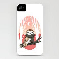 Winter Owl iPhone (4, 4s) Slim Case