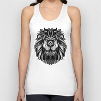 zodiac Tank Tops featuring Signs of the Zodiac - Leo by Andreas Preis
