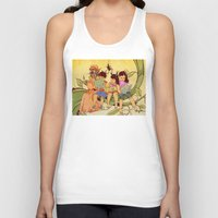 fairy tale Tank Tops featuring Fairy Tale by Radical Ink by JP Valderrama