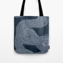 Japanese snake Tote Bag