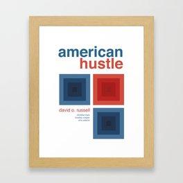 American Hustle Framed Art Print