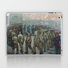 The Round of the Prisoners (after Doré) - Van Gogh Laptop & iPad Skin