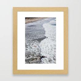Te Arai Cruiser Framed Art Print