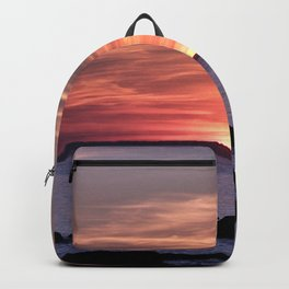 Dusk By The Sea Backpack