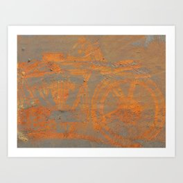 Oxidation Speed Art Print