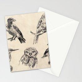 Bird vintage sketches 2 Stationery Cards