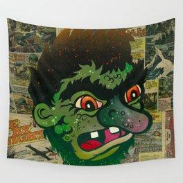 Troll Head Wall Tapestry