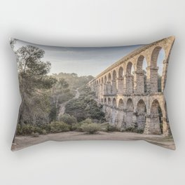 Pont del Diable (Ferreres Aqueduct, Tarragona) Rectangular Pillow