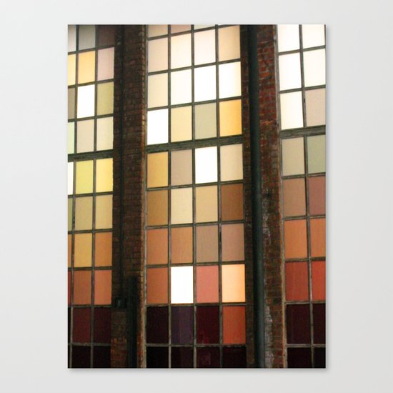 Window Worship Canvas Print
