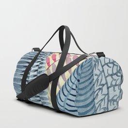 Blue Jungle Duffle Bag