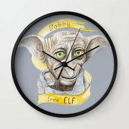 Dobby free Elf Harry Patter Wall Clock