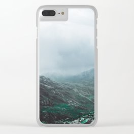 Scafell Pike Clear iPhone Case