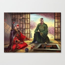 An Honored Guest Canvas Print