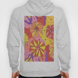 Gallactic Garden Colorful Art Hoody