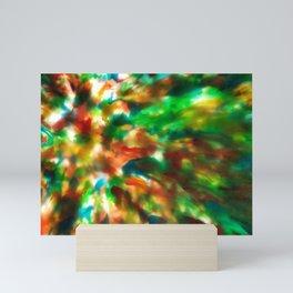 Tie Dye Recycle #preciousplastic Mini Art Print