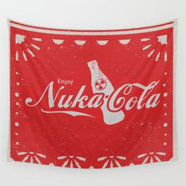 An Ice Cold Nuka Cola - Fallout Universe Wall Tapestry