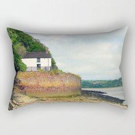 Dylan Thomas.The Boathouse. Rectangular Pillow