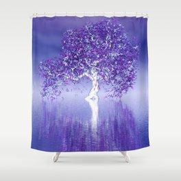 strange light somewhere -27- Shower Curtain