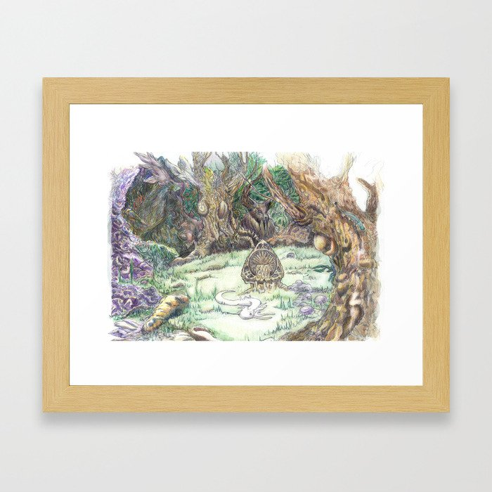 RHX Forest Logo Framed Art Print