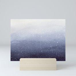 Falling Snow Mini Art Print