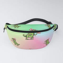Independence Day Dinosaur Fanny Pack