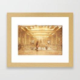 Central Station - Gare Centrale Framed Art Print