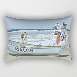 Avalon, Cooler by a Mile Rectangular Pillow