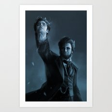 ABE THE HUNTER Art Print
