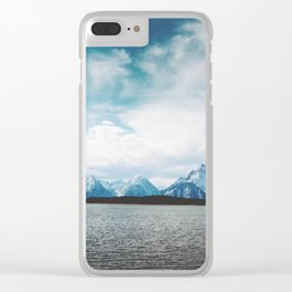 Dreaming of Mountains and Sky Clear iPhone Case