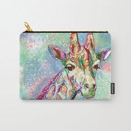 Colour Giraffe Carry-All Pouch