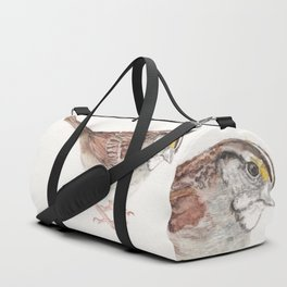 White-throated Sparrow Duffle Bag