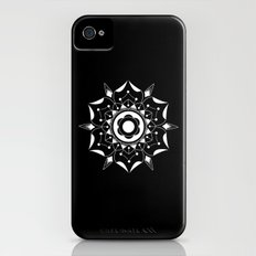 Geometric Flower Slim Case iPhone (4, 4s)