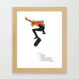 Naked Ramon Framed Art Print