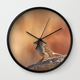 Little Sparrow Wall Clock