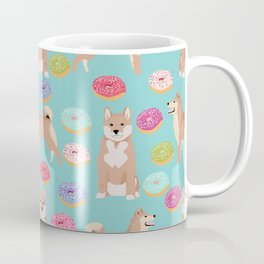 Shiba inu dog breed donuts pet gifts must have pure breeds shiba inus doughnuts Coffee Mug