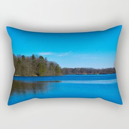 Ann Arbor Lake Rectangular Pillow