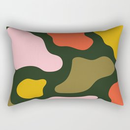 Blobazzo - Green Rectangular Pillow