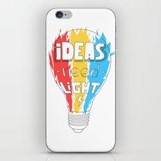Ideas Need Light iPhone & iPod Skin
