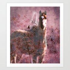 Wild Horse Within Art Print