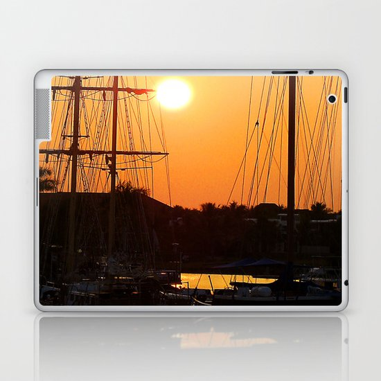 Nadi Harbour, Fiji Laptop & iPad Skin