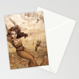 Paratrooper Stationery Cards