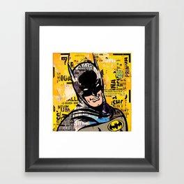 I am the night Framed Art Print