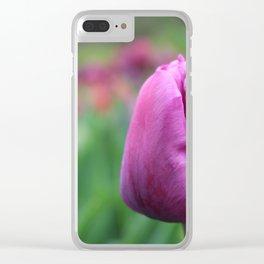 Bishop's purple Clear iPhone Case