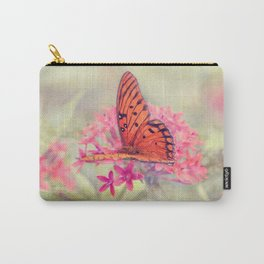 Quiet Butterfly Carry-All Pouch