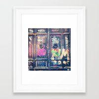 doors Framed Art Prints featuring doors by dillon hesse