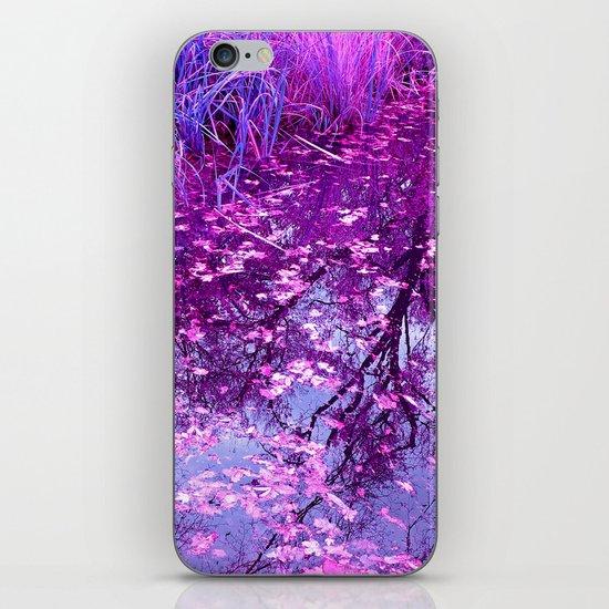 purple garden pond I iPhone & iPod Skin